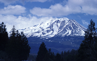Mount Shasta, a retreat of the Ascended Masters