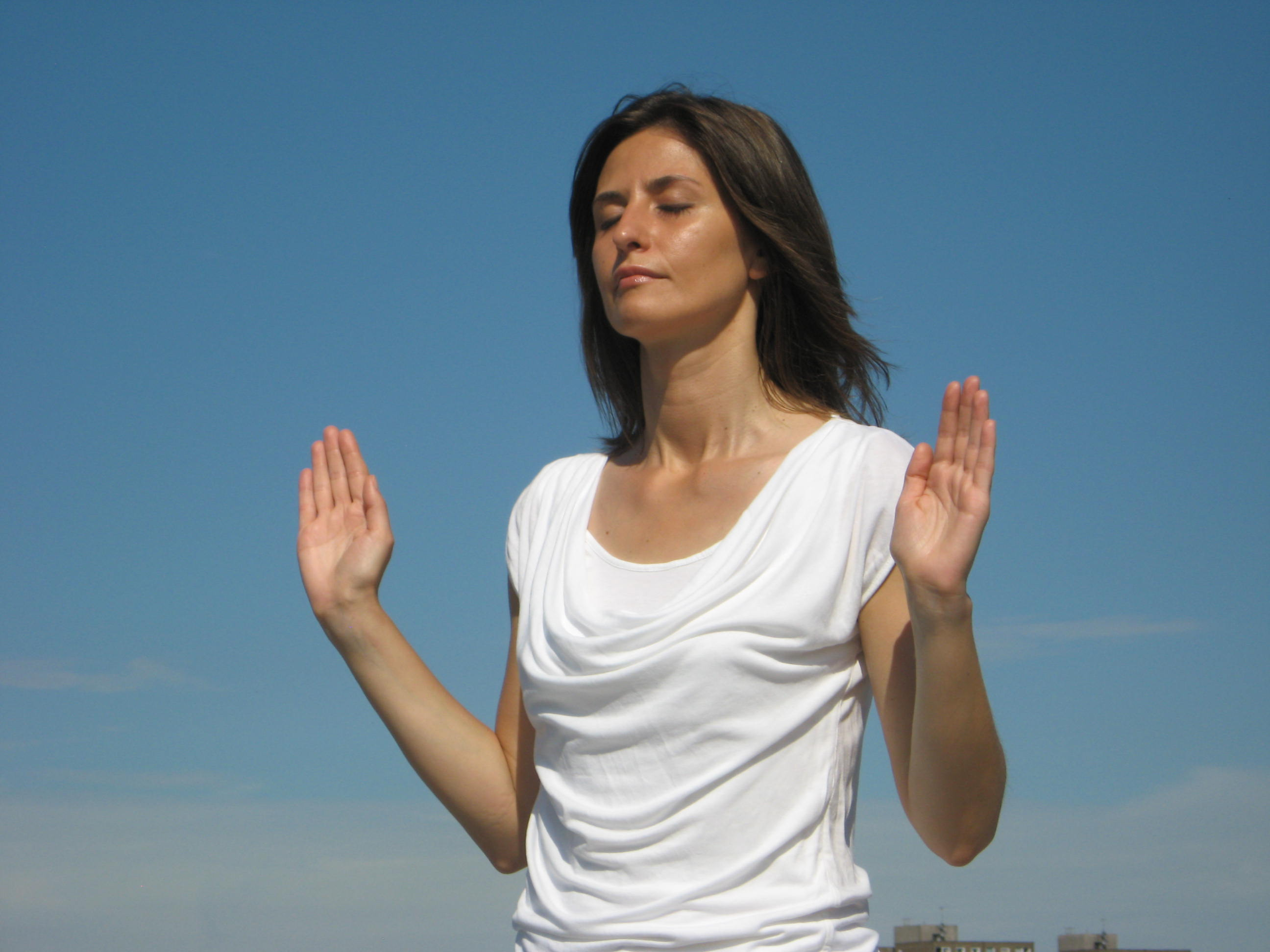 The posture for the prayer technique