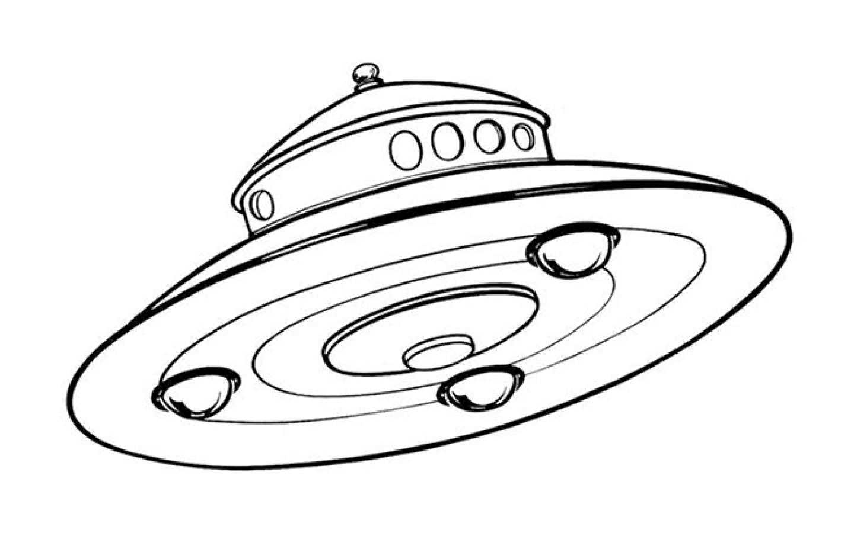 UFO scout craft