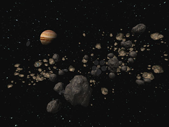 The asteroid belt is all that remains of the planet Maldek
